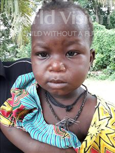 Choose a child to sponsor, like this little Girl from Jaiama Bongor, Mariama age 2