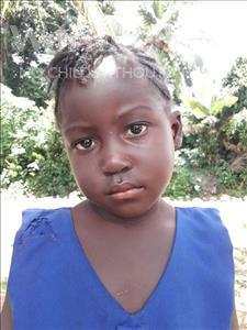 Choose a child to sponsor, like this little girl from Jaiama Bongor, Mamawa age 5
