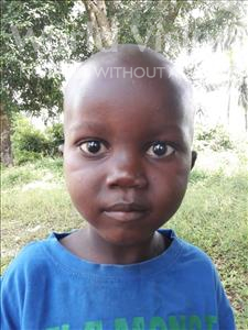 Choose a child to sponsor, like this little boy from Jaiama Bongor, Thomas age 5