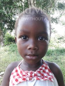Choose a child to sponsor, like this little girl from Jaiama Bongor, Zainab age 5