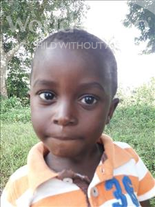 Choose a child to sponsor, like this little boy from Jaiama Bongor, Mohamed age 2