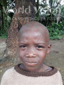 Choose a child to sponsor, like this little boy from Jaiama Bongor, Amodu age 6