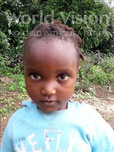 Choose a child to sponsor, like this little girl from Jaiama Bongor, Hannah age 4