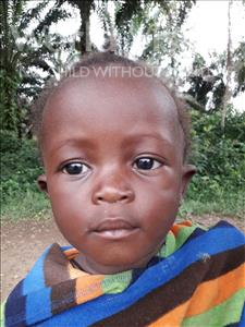 Choose a child to sponsor, like this little girl from Jaiama Bongor, Josephine age 1