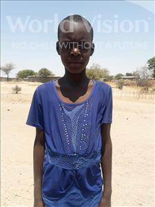 Choose a child to sponsor, like this little girl from Kilimatinde, Dorisia Yoshua age 10