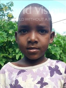 Choose a child to sponsor, like this little girl from Kilimatinde, Yusitina Patrisi age 6