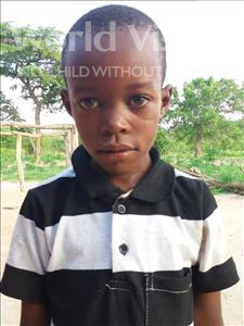 Choose a child to sponsor, like this little boy from Kilimatinde, God Samsoni age 8