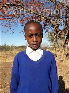 Andrea Laurent, aged 10, from Tanzania, is hoping for a World Vision sponsor