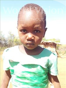 Wande Shija, aged 5, from Tanzania, is hoping for a World Vision sponsor