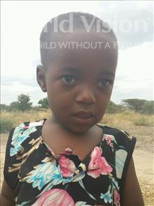 Choose a child to sponsor, like this little girl from Kilimatinde, Hellena Laurent age 4
