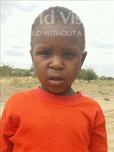 Choose a child to sponsor, like this little boy from Kilimatinde, Daudi Maganga age 7