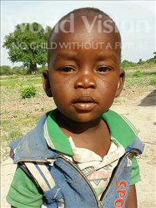 Choose a child to sponsor, like this little boy from Kilimatinde, Andrea Onesmo age 2