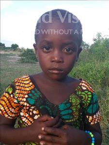 Lucy Simoni, aged 4, from Tanzania, is hoping for a World Vision sponsor