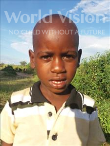 Choose a child to sponsor, like this little boy from Kilimatinde, Todi Adamu age 7