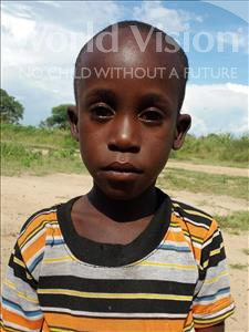 Ramadhani Robert, aged 7, from Tanzania, is hoping for a World Vision sponsor
