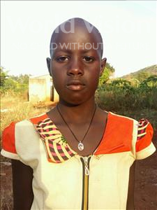 Choose a child to sponsor, like this little girl from Kibiga-Mulagi, Josephine age 11