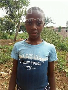 Choose a child to sponsor, like this little girl from Kibiga-Mulagi (Kimu), Liz age 10