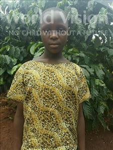 Choose a child to sponsor, like this little girl from Kibiga-Mulagi (Kimu), Vanisa age 11