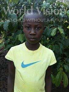 Choose a child to sponsor, like this little boy from Kibiga-Mulagi, Isaac age 12