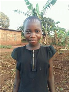 Choose a child to sponsor, like this little girl from Kibiga-Mulagi, Vivian age 10