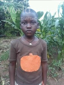 Choose a child to sponsor, like this little girl from Kibiga-Mulagi, Josephine age 7