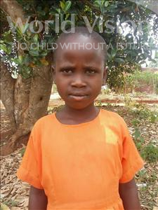 Choose a child to sponsor, like this little girl from Kibiga-Mulagi, Cathy age 8