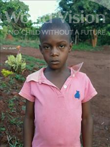 Choose a child to sponsor, like this little boy from Kibiga-Mulagi, Huzaifah age 7