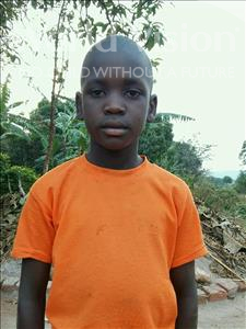 Choose a child to sponsor, like this little boy from Kibiga-Mulagi, Frank age 9