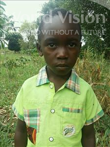 Choose a child to sponsor, like this little boy from Kibiga-Mulagi, Joram age 6