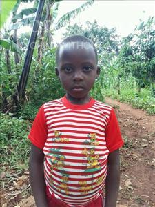 Choose a child to sponsor, like this little girl from Kibiga-Mulagi (Kimu), Fatuma age 9