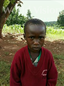 Choose a child to sponsor, like this little boy from Kibiga-Mulagi, Charles age 7