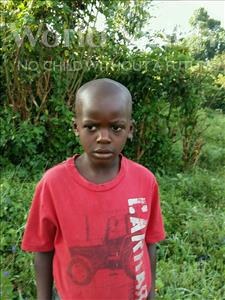Choose a child to sponsor, like this little boy from Kibiga-Mulagi (Kimu), Frank Trever age 7