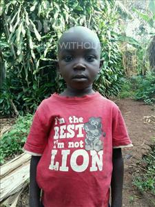 Choose a child to sponsor, like this little boy from Kibiga-Mulagi (Kimu), Isaac age 7