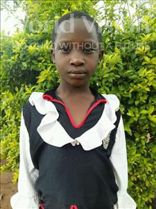 Aisha, aged 8, from Uganda, is hoping for a World Vision sponsor