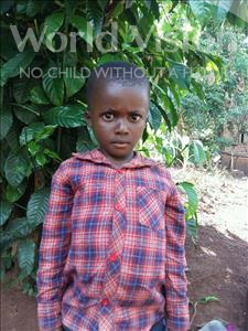 Choose a child to sponsor, like this little boy from Kibiga-Mulagi, Daniel age 6