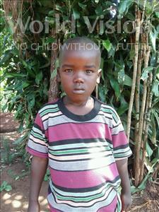 Choose a child to sponsor, like this little boy from Kibiga-Mulagi (Kimu), Eria age 6
