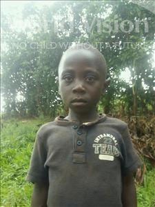Choose a child to sponsor, like this little boy from Kibiga-Mulagi (Kimu), Prosper age 8