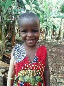 Choose a child to sponsor, like this little girl from Kibiga-Mulagi, Halimah age 5
