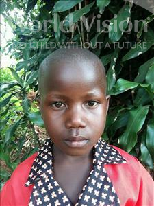 Choose a child to sponsor, like this little girl from Kibiga-Mulagi, Sharon age 5