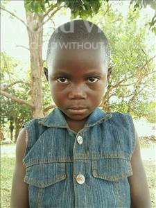 Choose a child to sponsor, like this little girl from Kibiga-Mulagi (Kimu), Winfred age 6