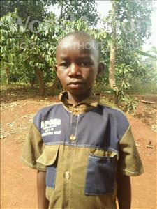 Choose a child to sponsor, like this little boy from Kibiga-Mulagi, Joash age 8