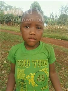 Choose a child to sponsor, like this little girl from Kibiga-Mulagi, Malaika age 7