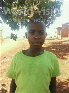 Beatress, aged 8, from Uganda, is hoping for a World Vision sponsor