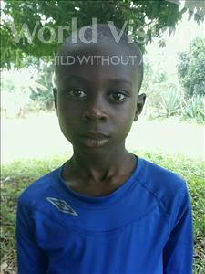 Choose a child to sponsor, like this little boy from Kibiga-Mulagi, Michael Jackson age 8