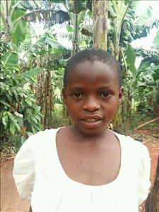 Choose a child to sponsor, like this little girl from Kibiga-Mulagi, Irene age 8