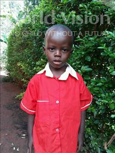 Choose a child to sponsor, like this little boy from Kibiga-Mulagi, John age 3