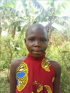 Choose a child to sponsor, like this little girl from Kibiga-Mulagi, Majolini age 7