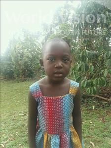 Choose a child to sponsor, like this little girl from Kibiga-Mulagi, Josephine age 5