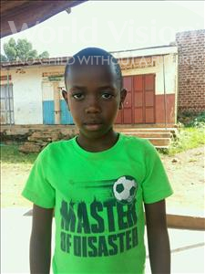 Choose a child to sponsor, like this little boy from Kibiga-Mulagi, Enock age 8