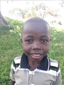Choose a child to sponsor, like this little boy from Busitema, Kenneth age 3
